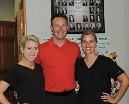 Dr. Meylor and staff