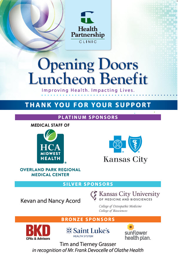 Opening the Doors Benefit Luncheon