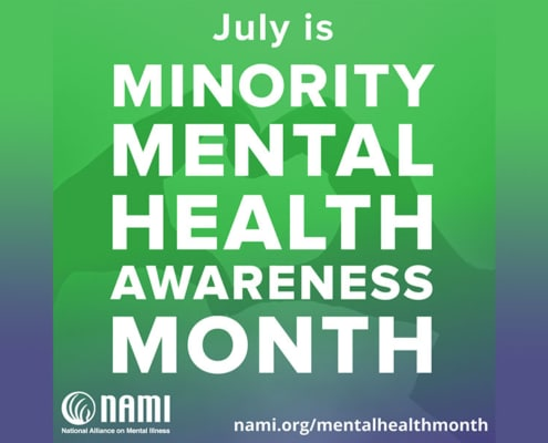 Health Partnership Clinic: July is Minority Mental Health Month