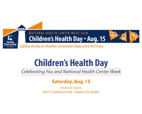Health Partnership Clinic: 2020 National Health Center Week