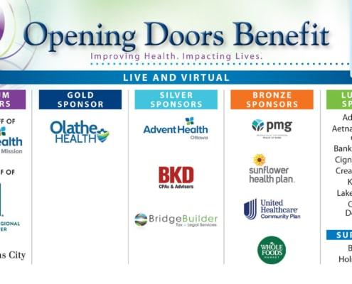 HPC 2020 Opening Doors Sponsors