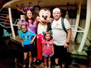 Diana Zamora with her Family
