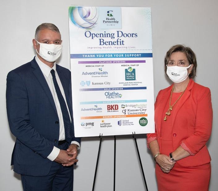 Health Partnership: 2020 Opening Doors Benefit Online Event