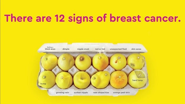 Know Your Lemons: 12 signs of breast cancer