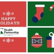 Health Partnership Clinic: Happy Holidays!