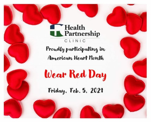 Heart Health Month: Wear Red Day