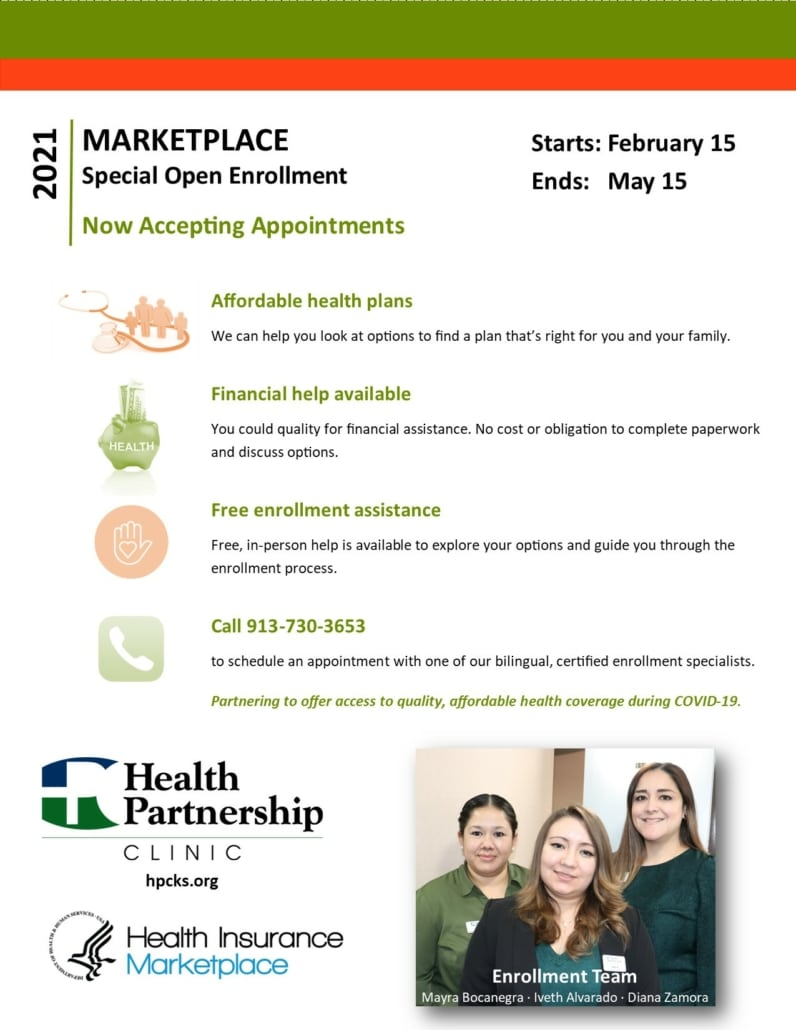 Special Marketplace Health Insurance Open Enrollment (English)