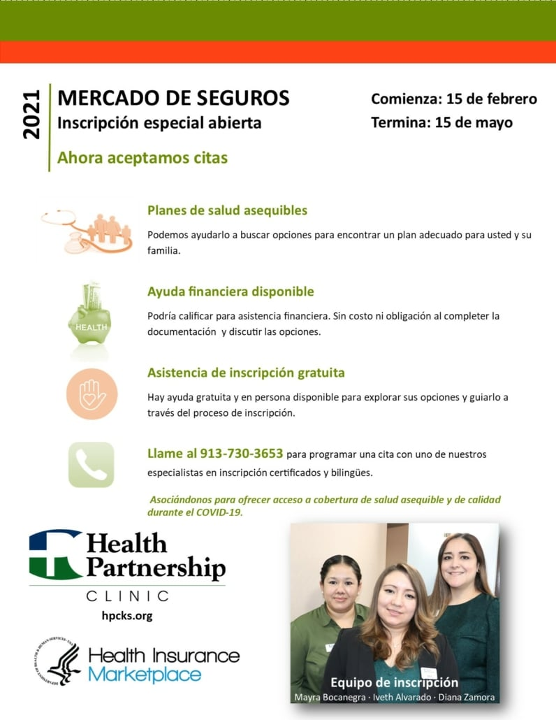 Special Marketplace Health Insurance Open Enrollment (Spanish)