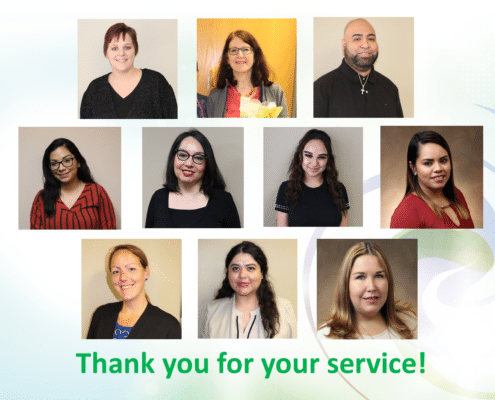 Staff Recognition - PSRs