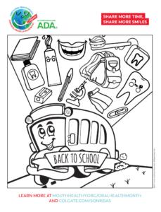 Dental Health Month - Back to School