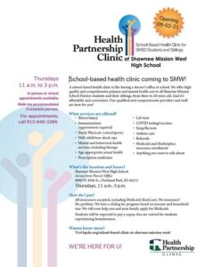Shawnee Mission West School Based Clinic - English