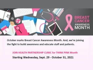 2021 Breast Cancer Awareness Month