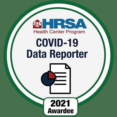 HRSA - COVID 19 Data Reporter 2021