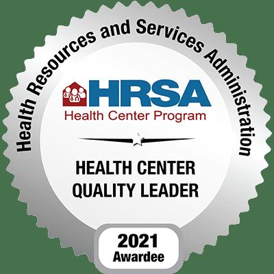 HRSA - Health Center Quality Leader 2021
